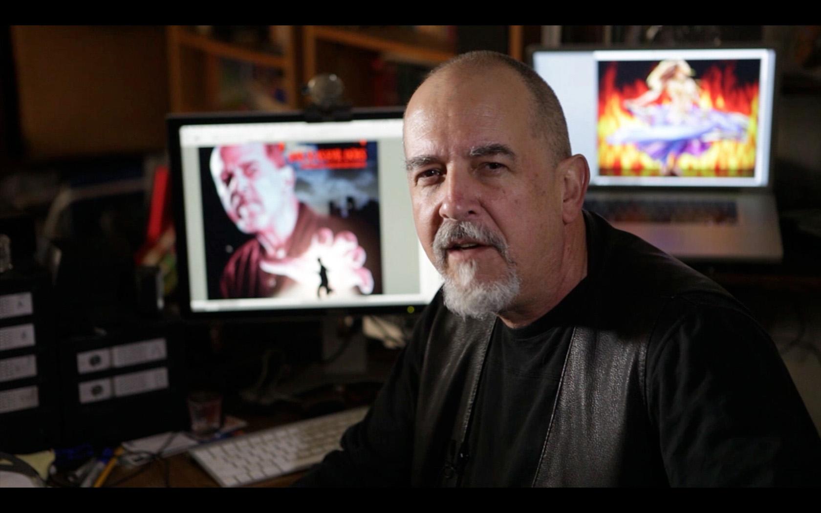 Lee at Computer