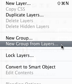 New Group from Layers