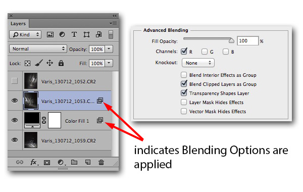 Advanced Blending Options