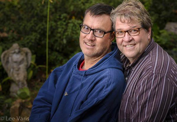 Rick & Gary by Bobbi