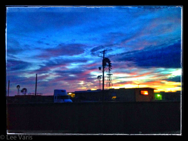 Sunset in Fort Stockton