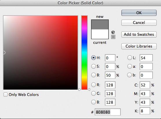 Set neutral gray color