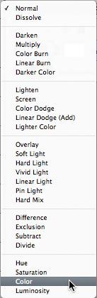 Color Blend Mode