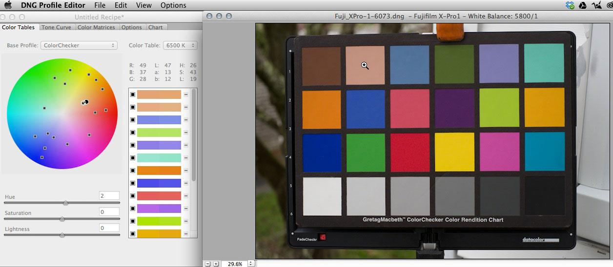 ColorChecker Camera Calibration