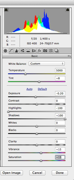 Basic Panel Settings