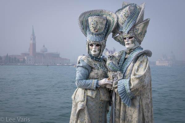 Misty Blue Couple