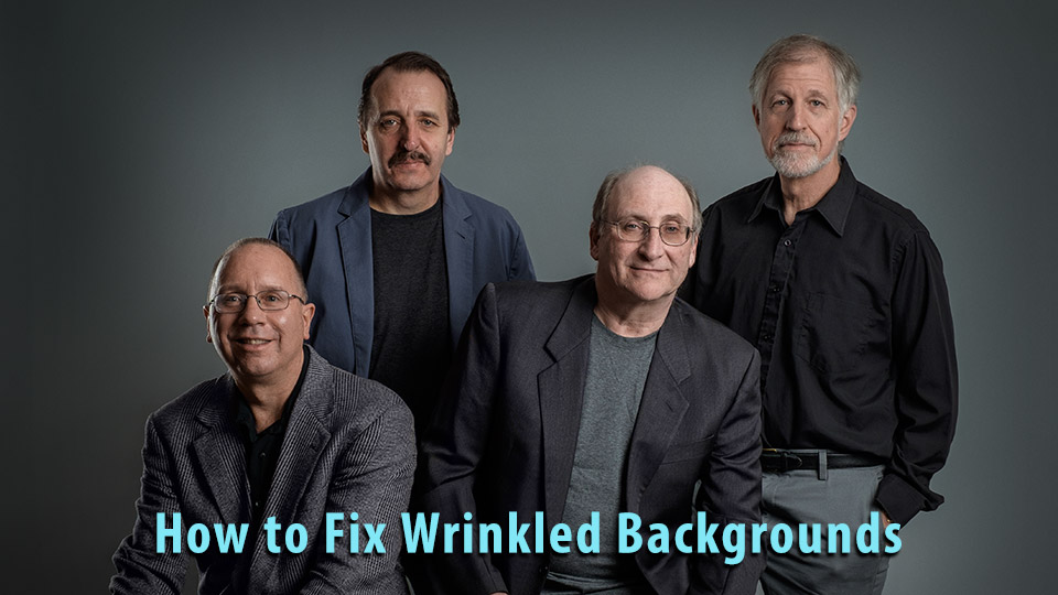 How to Fix Background Wrinkles