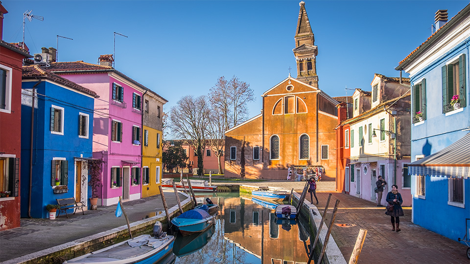Burano, Italy – A Study in Color & Tone