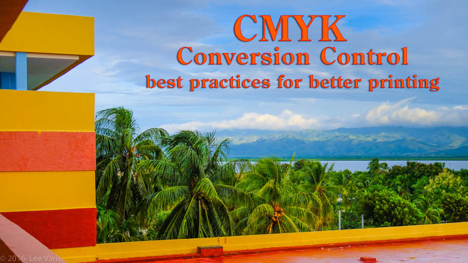 CMYK Conversion Control